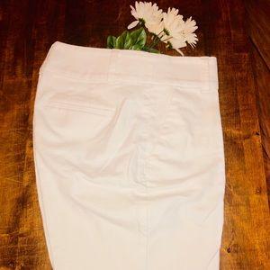 ✨NWOT . Linen Loft white shorts